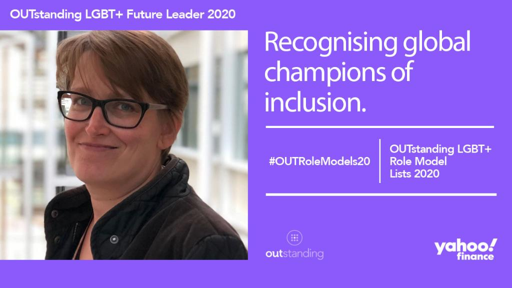 We're proud to see Annie Newman included for the second time in the @OUTstandingiB LGBT+ Future Leaders List supported by @YahooFinance, celebrating the incredible achievements of LGBT+ people and Allies in the business community: https://t.co/9bPX9RFxx3 #OUTRoleModels20 https://t.co/PccIZ9EM0I