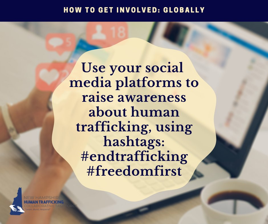Visit our website and share what you found interesting with your friends! Find the information we put together as well as additional resources here:   #EndTrafficking #NH #HumanTrafficking  #NationalHumanTraffickingPreventionMonth #FreedomFirst