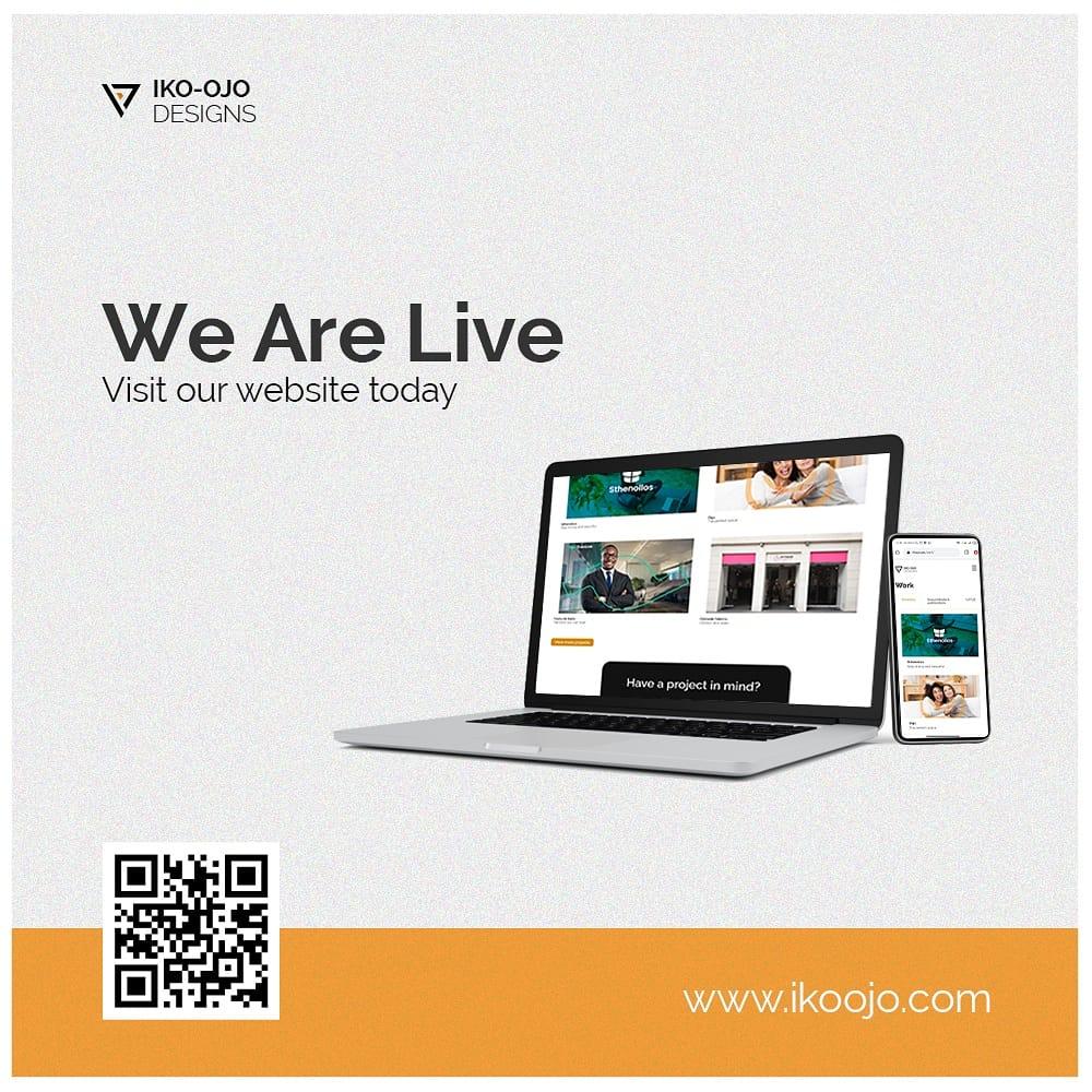 We are live! Please visit our website today:   Nimc #website #designagency #design #tuesdaymotivations #NASSRevisitPIB Yahaya Bello  #NengiHampson Travis #branding