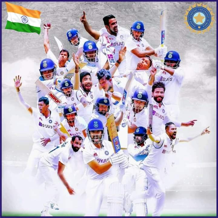 ऑस्ट्रेलिया के विरुद्ध बॉर्डर-गावस्कर ट्रॉफी टेस्ट सिरीज़ में टीम इंडिया को 2-1 से जितने पर हार्दिक बधाई एवं शुभकामनाएं। Congratulations #TeamIndia