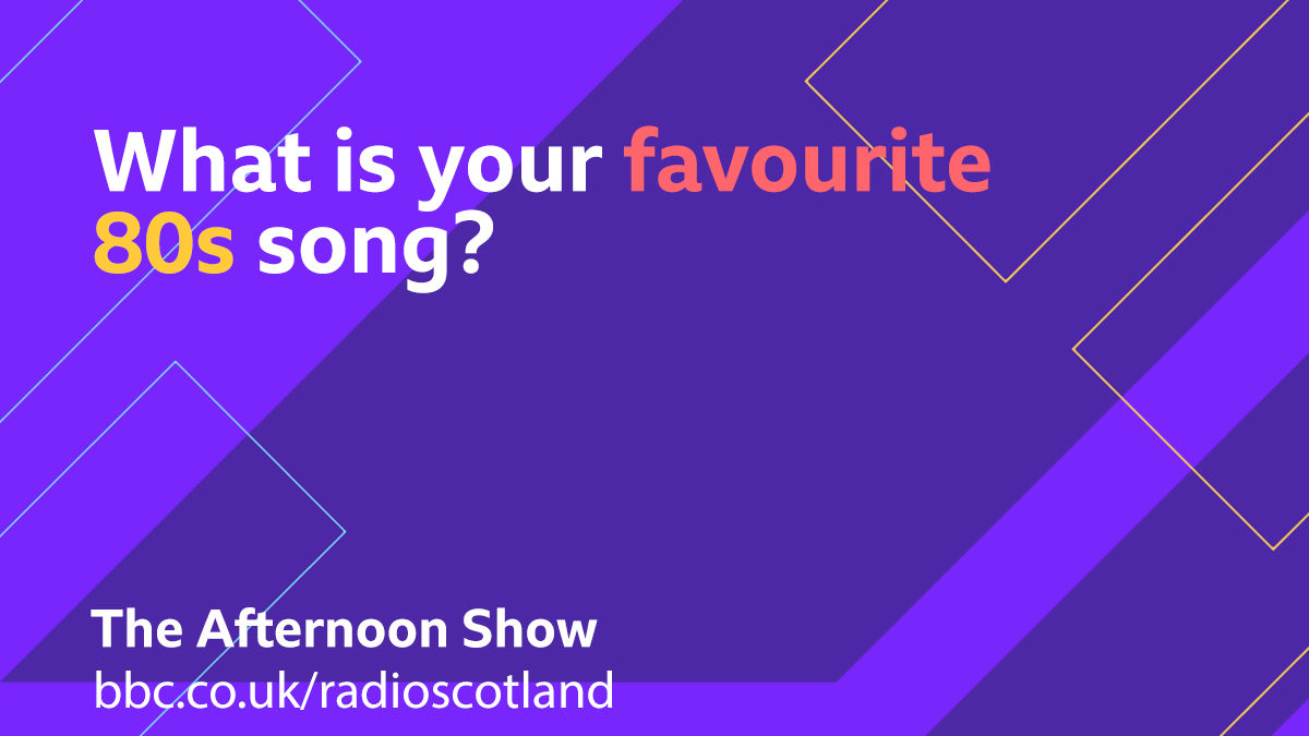 This afternoon we're reviewing @russelldavies63 new 80s set drama 'It's a Sin'  So for your Topical Tune today we're looking for your favourite 80s song....let us know below 👇  #TheAfternoonShow with @JaniceForsyth from 13:30
