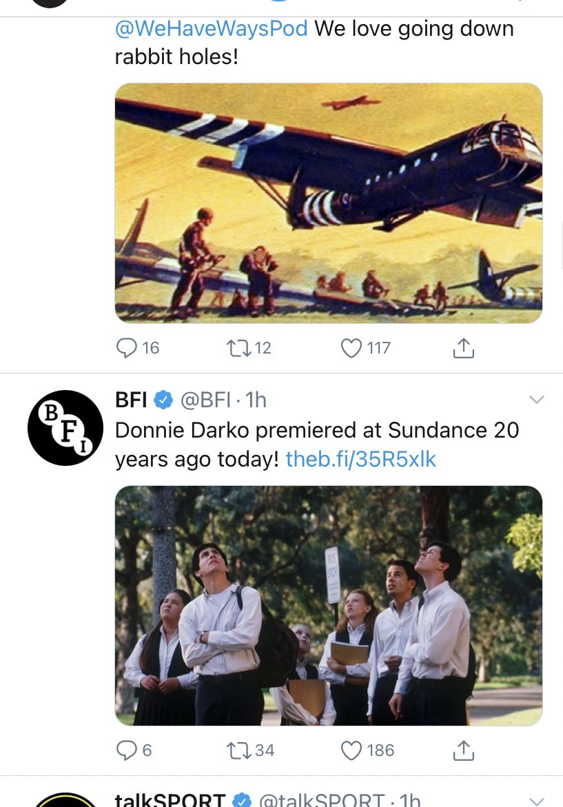 When your timeline perfectly lines up
