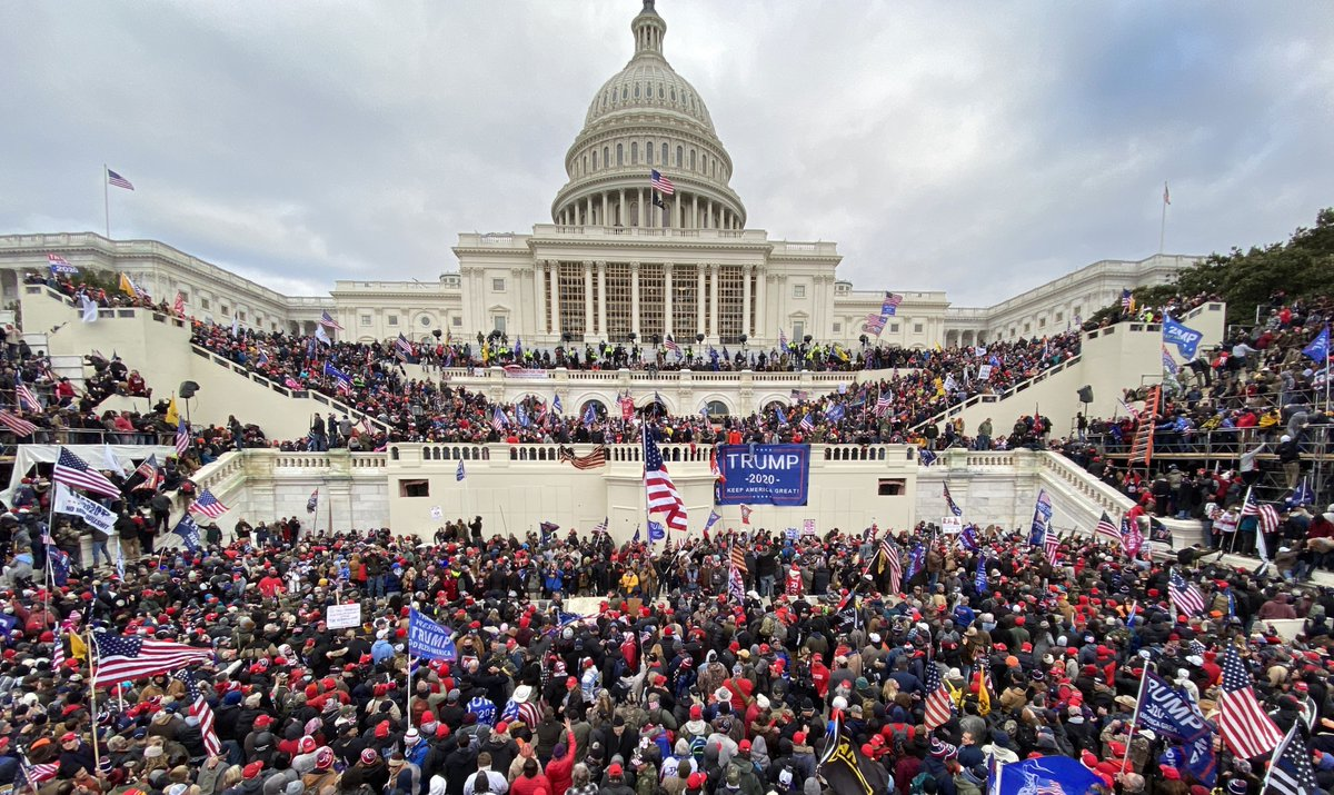 In the aftermath of the #Capitolriots, how are US brands re-assessing their entanglement with #politics?   @cpealet, U.S. Commissioning Editor at WARC shares her insights -    Her piece is an just an advance of our new #SpotlightUS series - coming soon!