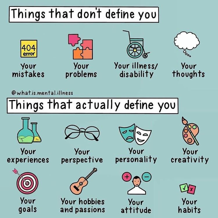 Starting the morning with a motivational infographic! #monday #MondayMotivation #Mentalhealth