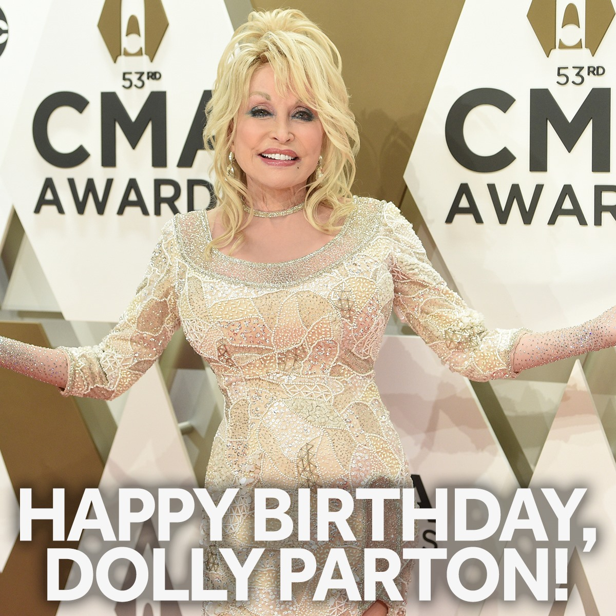 HAPPY BIRTHDAY, DOLLY! ⭐️🎂⭐️ The Queen of Country Dolly Parton turns 75 today!