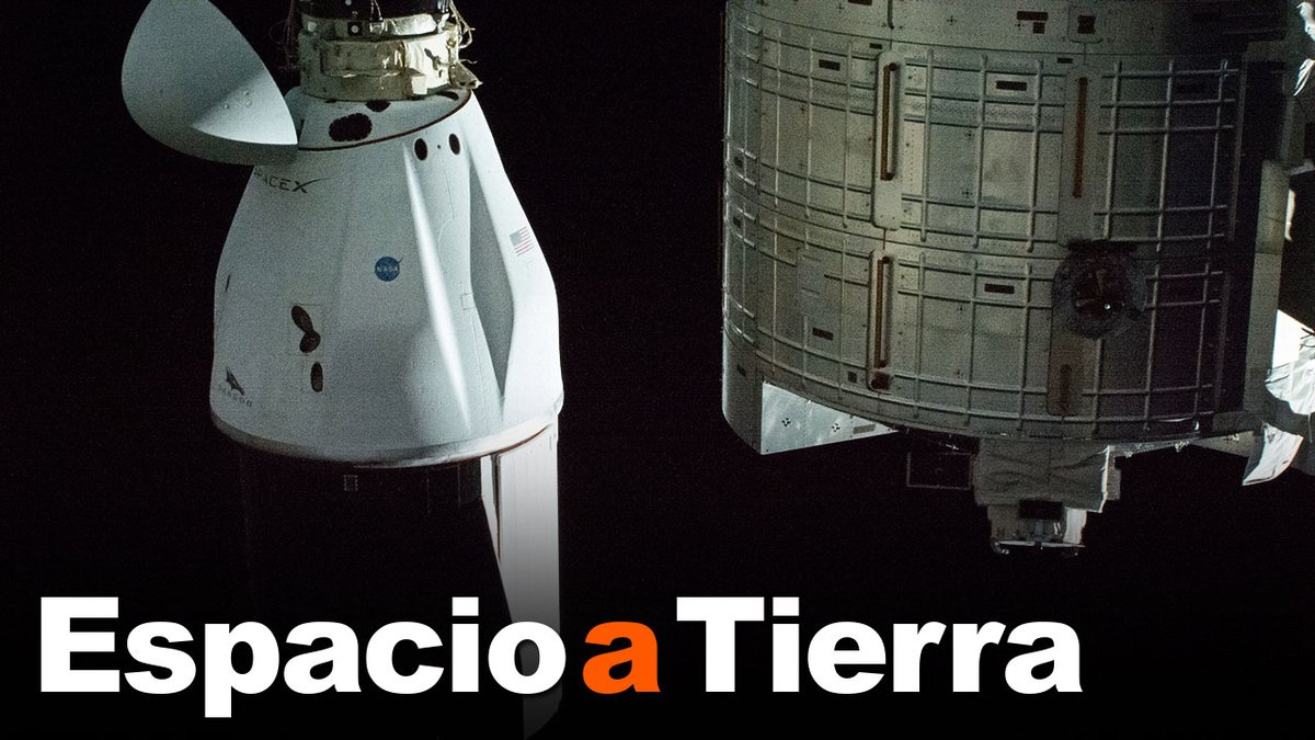 La nave espacial de cargo Dragon de SpaceX amerizó frente a la costa de Florida repleta de experimentos científicos. #EspacioATierra