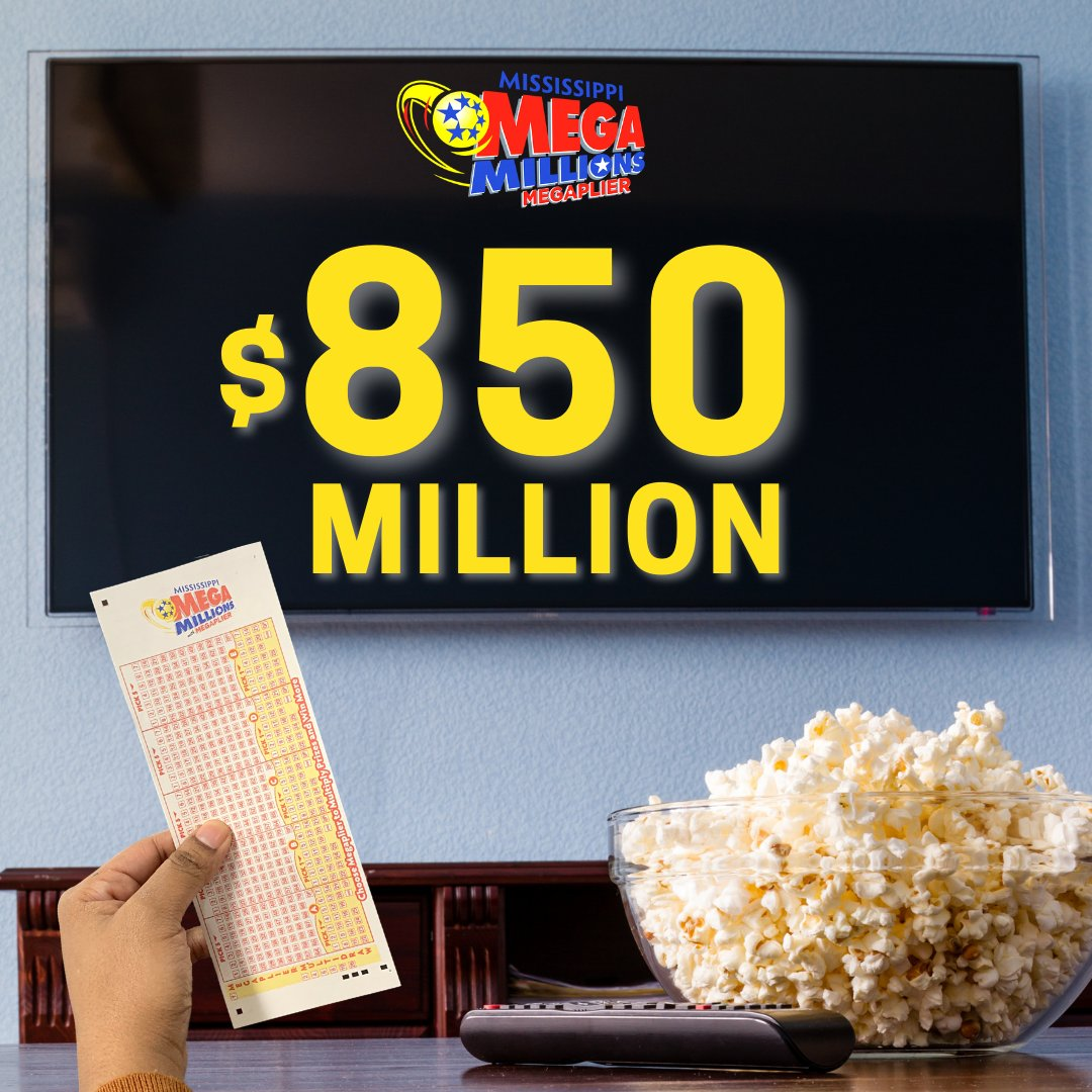 Popcorn? ✅ Mega Millions ticket? ✅ Who's ready for tonight's draw?!  #NationalPopcornDay #MegaMillions