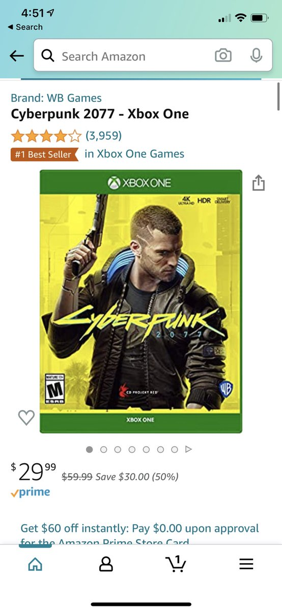 Couldn't resist at this price. #Cyberpunk2077