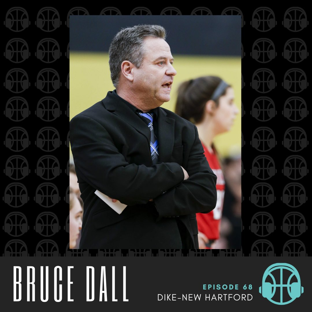 Our guest this week on the podcast is Bruce Dall! Bruce is a half of fame coach with 450 wins at 4 different high schools here in Iowa. He has a state championship at AGWSR, multiple state appearances and conference titles.