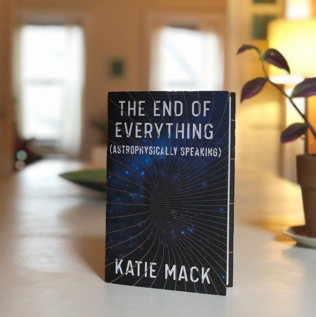 From one of the most dynamic rising stars in astrophysics! ✨   An accessible and eye-opening look at five ways the universe could end, and the mind-blowing lessons each scenario reveals about the most important concepts in cosmology. 📚   📖: