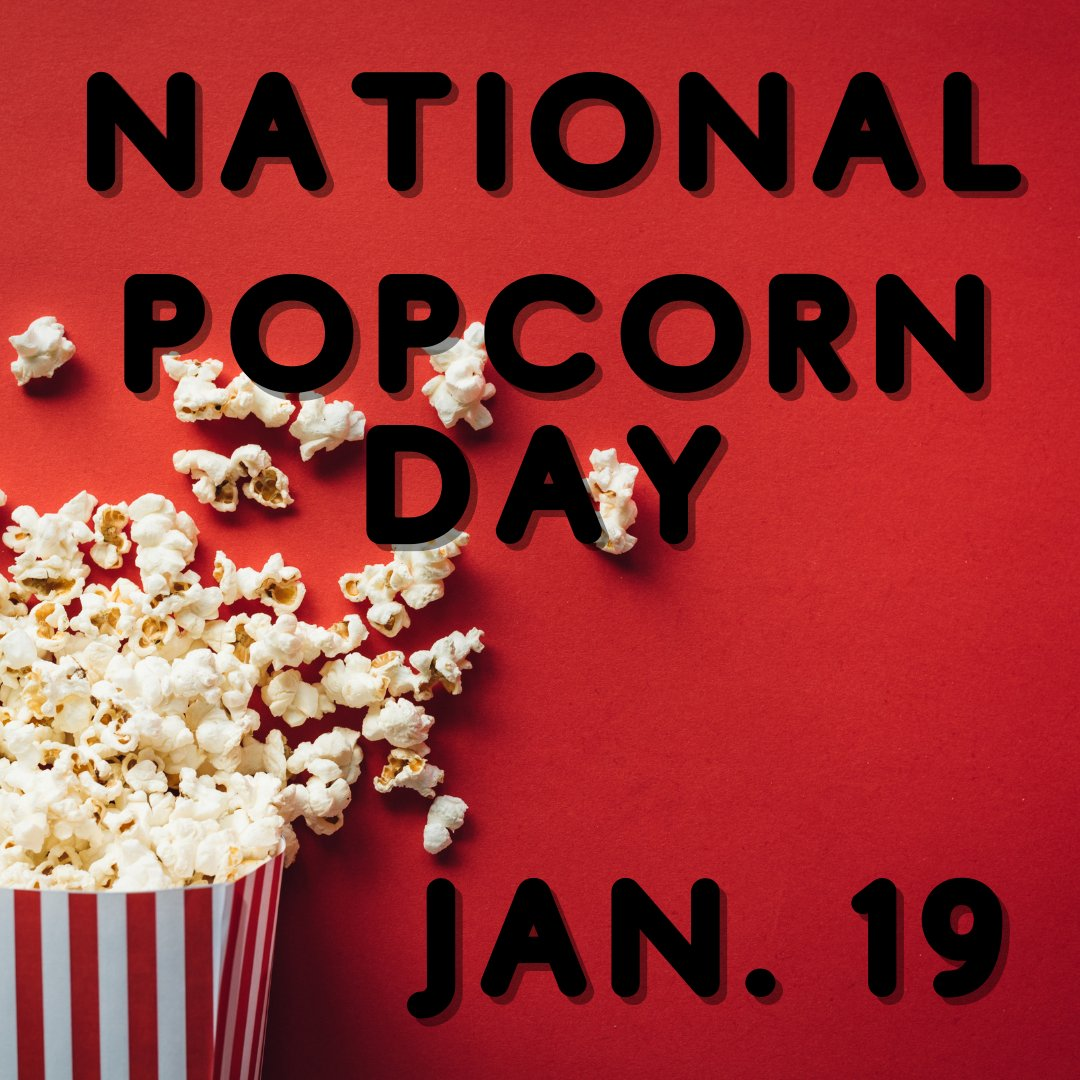 Be sure to enjoy some popcorn today for National Popcorn Day! #nationalpopcornday #THEMET