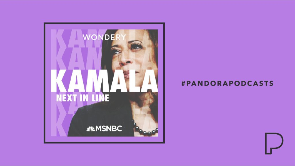 """Hosted by @JoyAnnReid, """"Kamala: Next In Line"""" shares the journey that led @KamalaHarris from her humble roots to become the 1st Black woman to represent California in the Senate, and now the Vice President-elect. Listen now, on the eve of the inauguration:"""