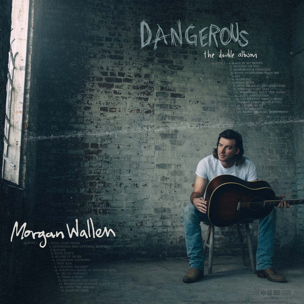 """Wasted On You"" by @MorganWallen debuts at #9 on the Billboard Hot 100 with 17.9 million US streams and 10,000 downloads sold.  This earns Morgan Wallen his second career top 10 hit on the Hot 100 chart after ""7 Summers"" debuted at #6 in August 2020. #MorganWallen #WastedOnYou"