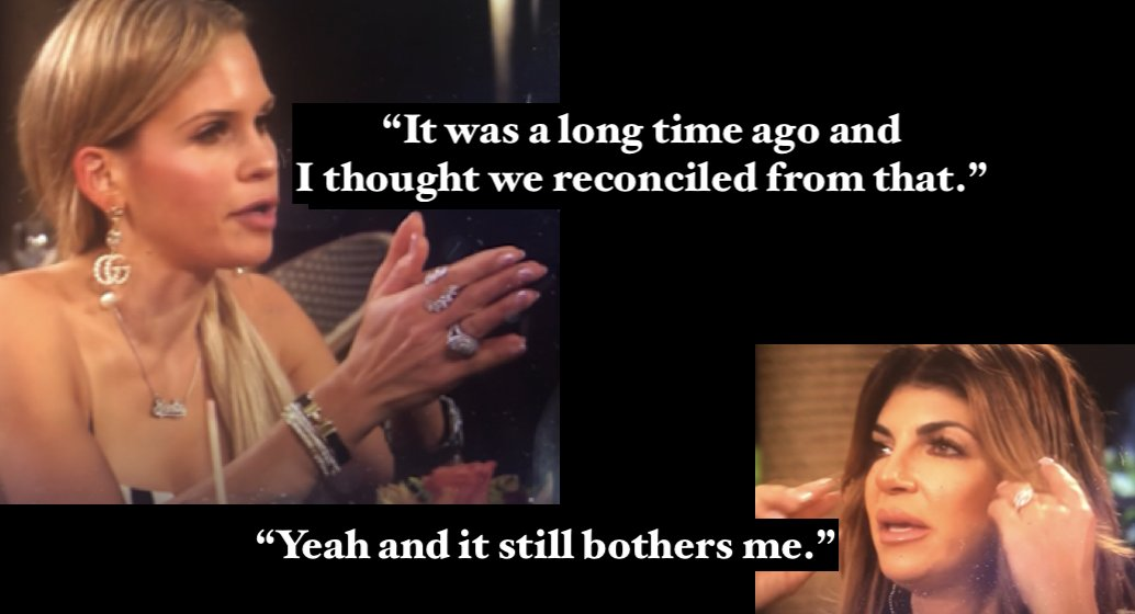Let's see what the new season brings. Will Delores again criticize Jackie for unfounded things while giving Teresa a pass for exactly the same thing? #rhonj Wait and see!