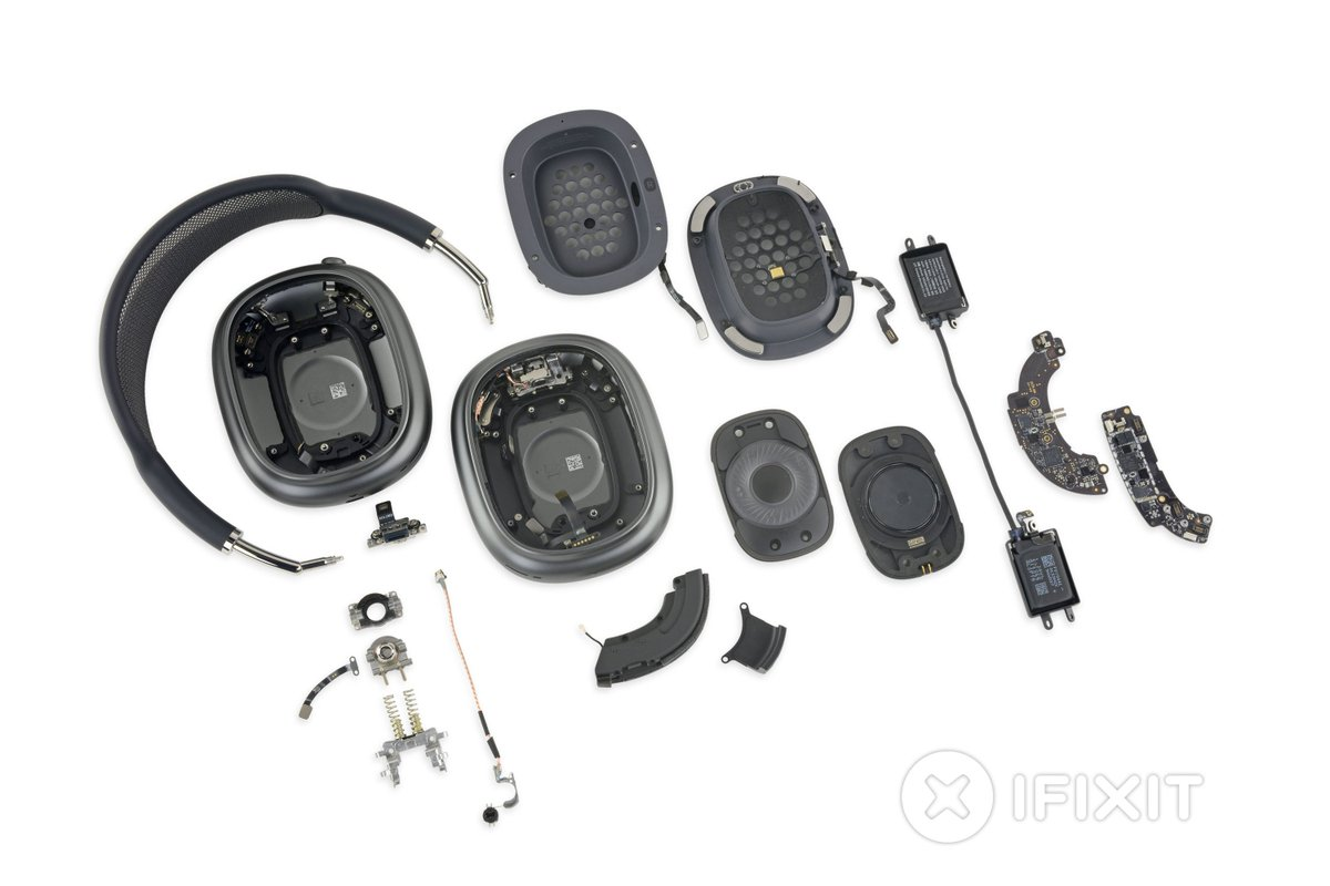 "AirPods Max teardown makes Sony and Bose headphones look ""like toys"" https://t.co/RBOmDvUjDJ https://t.co/dsm1UyfEUv"