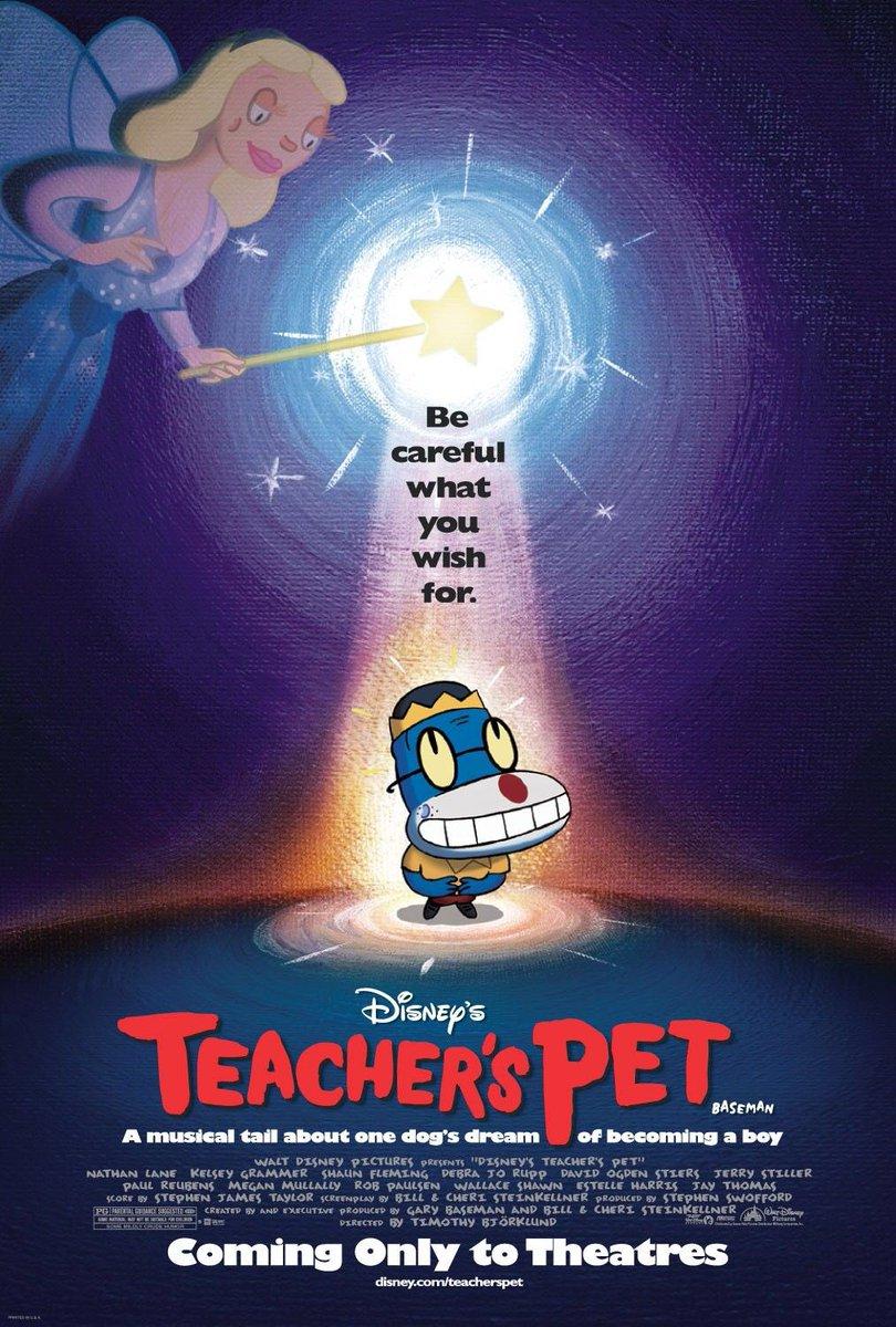 Tonight I Will Be Watching Teacher's Pet On Disney+ #WaltDisneyArchives #D23 #WaltDisney #Disney #DisneyPlus #AtHomeWithD23 #TeachersPet #DisneyTeachersPet #ABC7Eyewitness  #DisneyTelevisionAnimation #DisneyTVA #DTVA