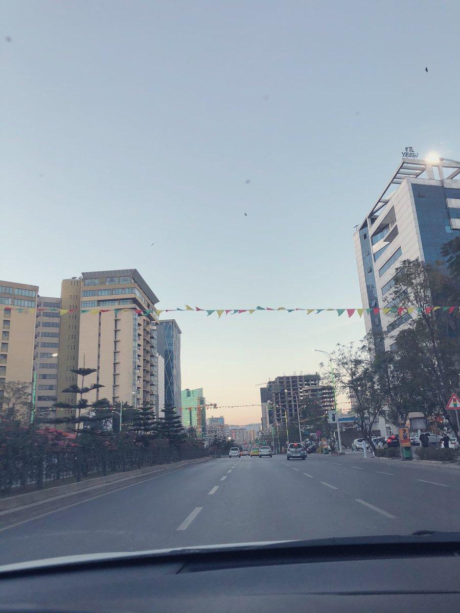 بعض من صور الشوراع في العاصمة  أديس أبابا 🌼 اليوم 😌 #MyAddis #Ethiopia #اثيوبيا 🇪🇹