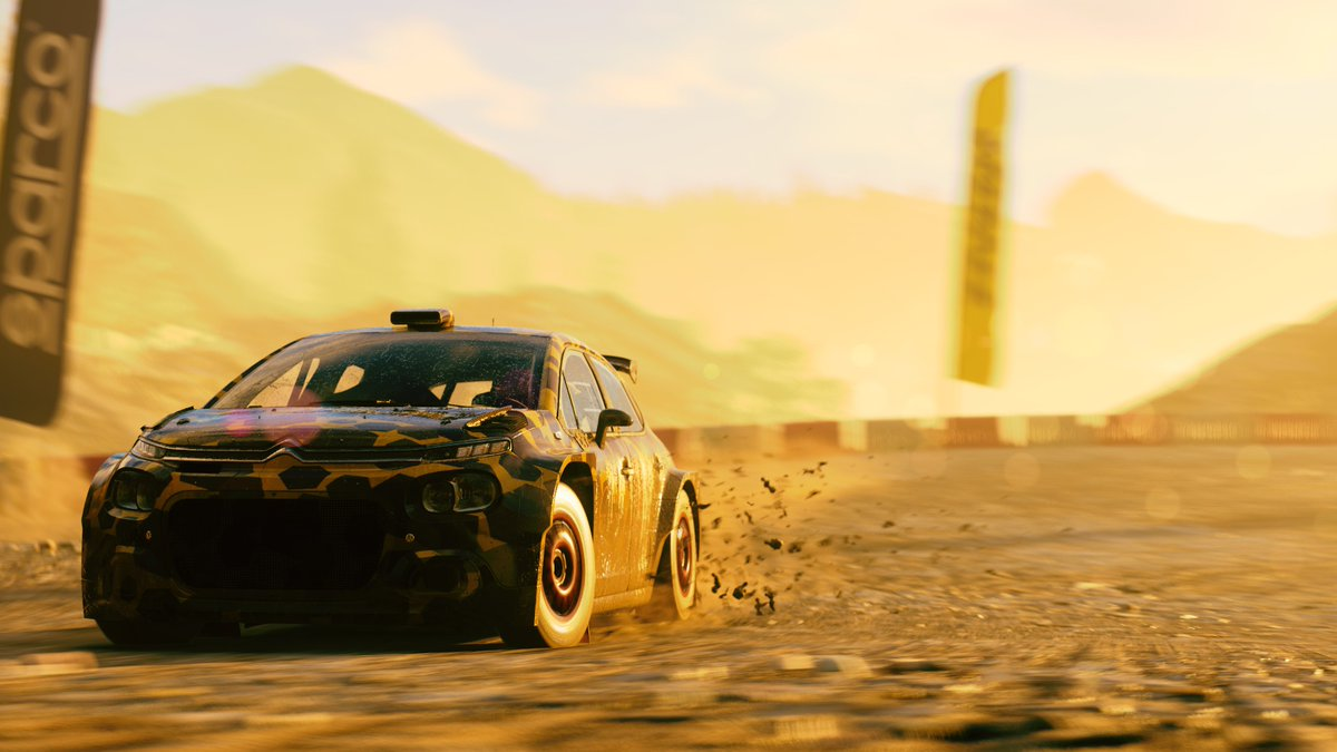 GOD that #DIRT5 graphics is so awesome