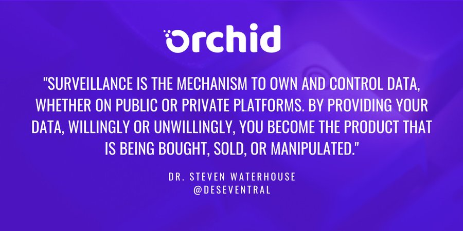 Tweet by @OrchidProtocol