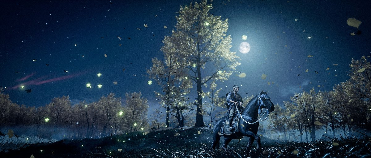 On horseback for #tsushimatuesday  #VirtualPhotography #VGPUnite #artisticofsociety #gamergram #PS4Share #PhotoDenUC