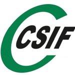 Image for the Tweet beginning: CSIF assegura que la situació