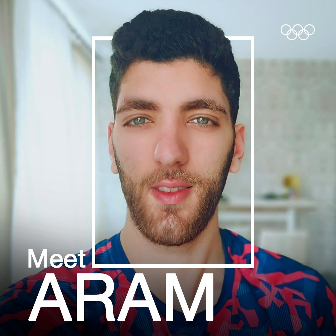 Meet Aram 🏸 He is an IOC Refugee Athlete Scholarship-holder, a badminton player, and he is currently training in the Netherlands.  @Refugees @bwfmedia @nocnsf @Tokyo2020  #RefugeeOlympicTeam #Tokyo2020 #StrongerTogether #Hope #OlympicRefuge