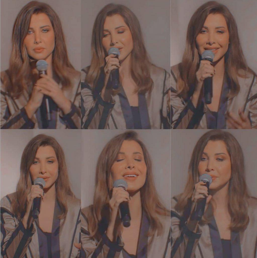 Mood of today and everyday 🎼🎤🎶🤎 #حفل_نانسي_تيكتوك  #NancyMagicalLIVEshow    @NancyAjram