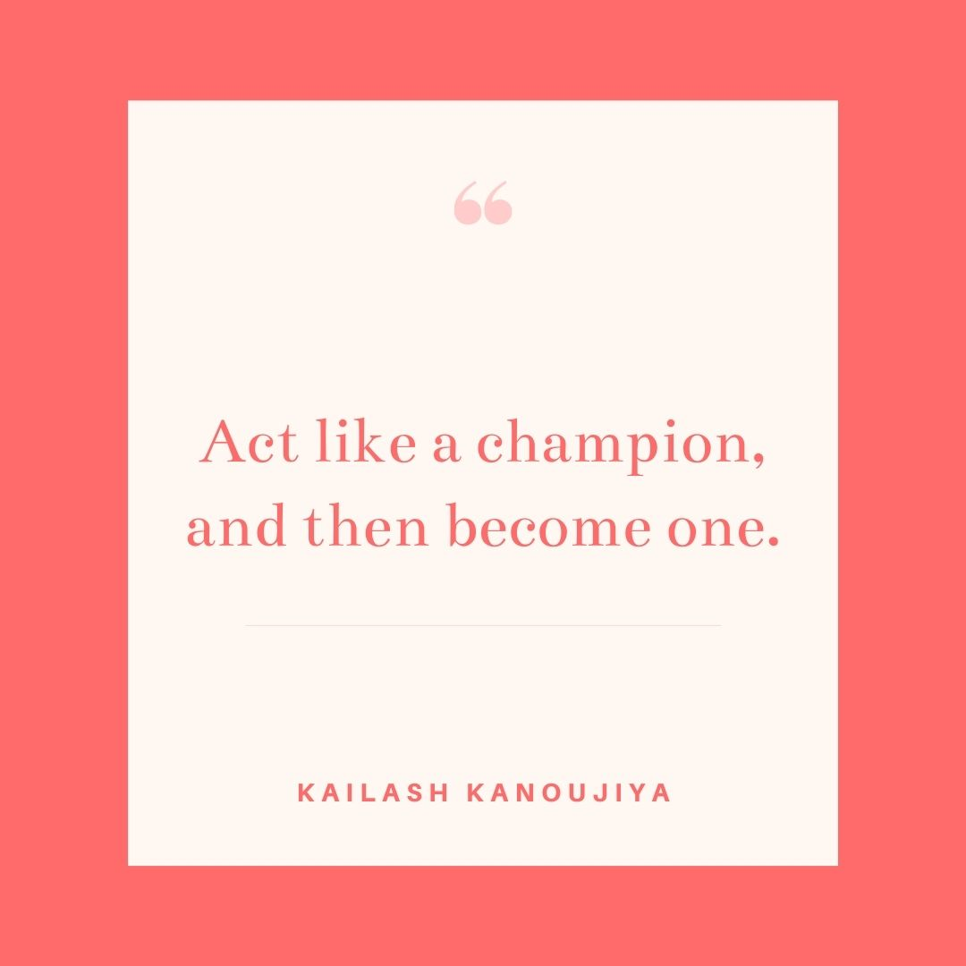 First act like a champion and then work hard to become one! . . . . #champion #workhard #act #lifecoach #lifecoaching #personalcoach #motivation #inspiration #quotes #quotestagram #quotesaboutlife #kailashkanoujiya https://t.co/xKZcnffMkk