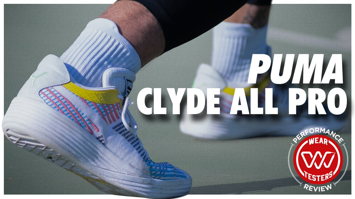 Replying to @Nightwing2303: PUMA Clyde All-Pro Performance Review