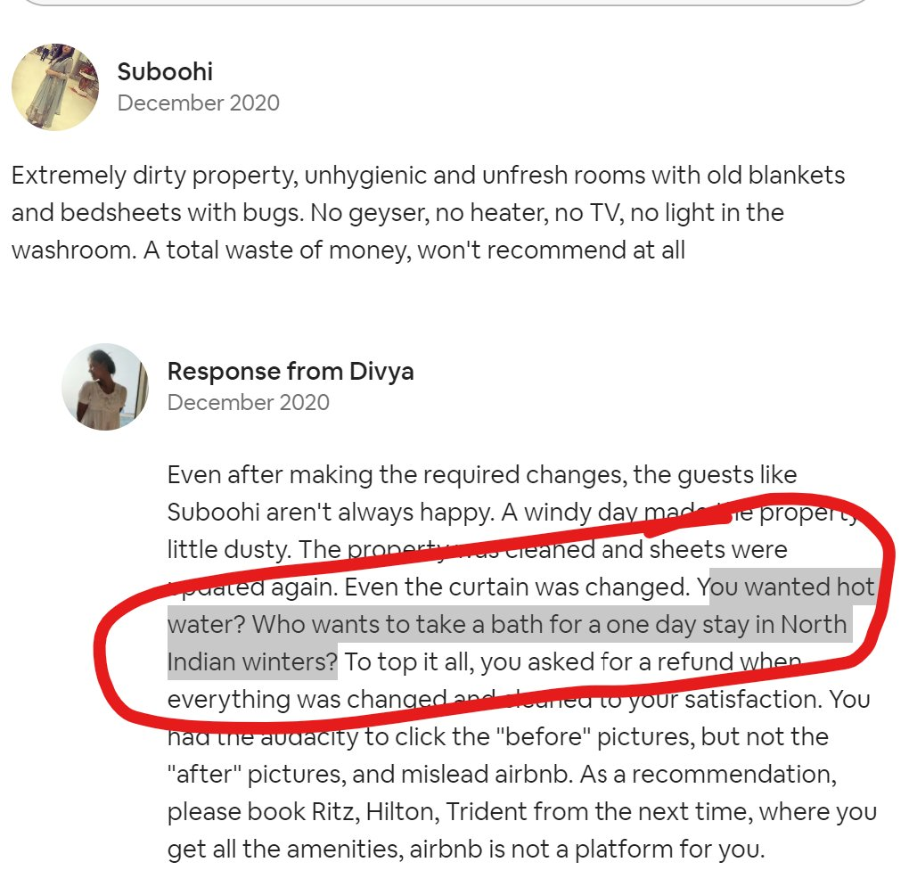 @subiism @Airbnb_in This is hilarious. What an amazing host.
