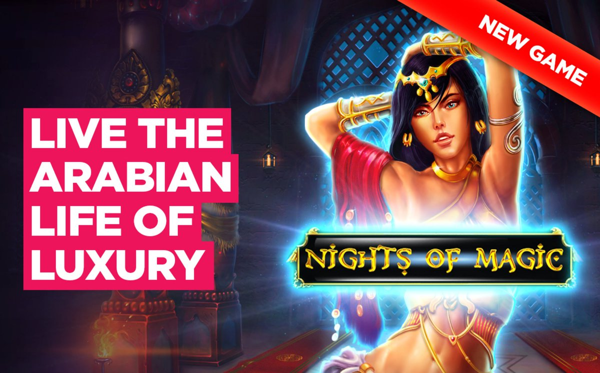 🧞‍♂️✨🏺⚱️ NIGHTS OF MAGIC! 🧞‍♂️✨🏺⚱️ Play this Arabian-themed game for FREE or to win real money. Sign up for free here:   ✅ All new players get a bonus up to €/$100 free on their first deposit!  #pokies #casino #aussie #playnow #tuesdaymotivations