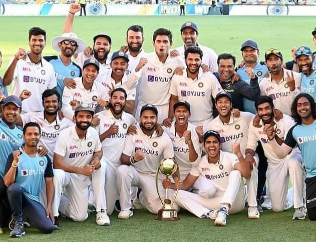 What a magnificent victory! Hearty congratulations to #TeamIndia for breaching the Gabba fortress after three decades. An outstanding display of prowess and perseverance, that has made the entire nation proud, today. #INDvAUS