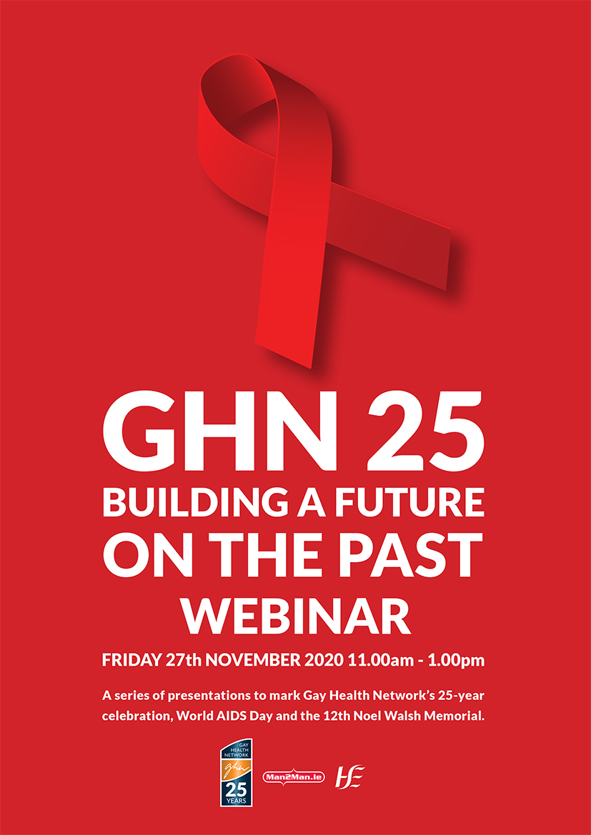 The Gay Health Network (GHN) conference: GHN25 Building a Future on the Past celebrating 25 years of GHN & marking #WorldAidsDay 2020 is now available to view online. Includes sexual health strategy update from  @_respectprotect & Minister @FrankFeighan