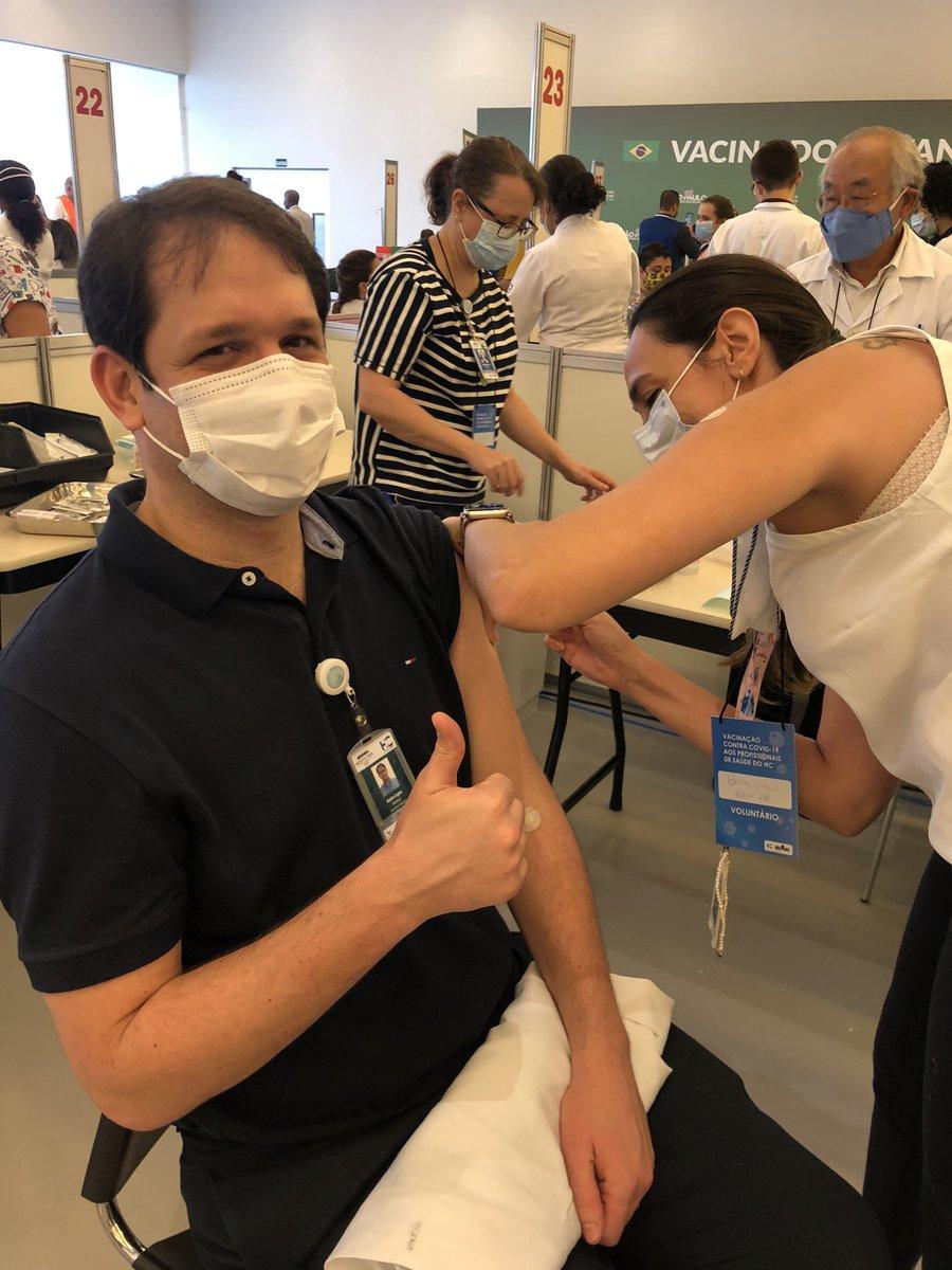 #endcovid19 #hcfmusp #icesp #VacinaDoButantan