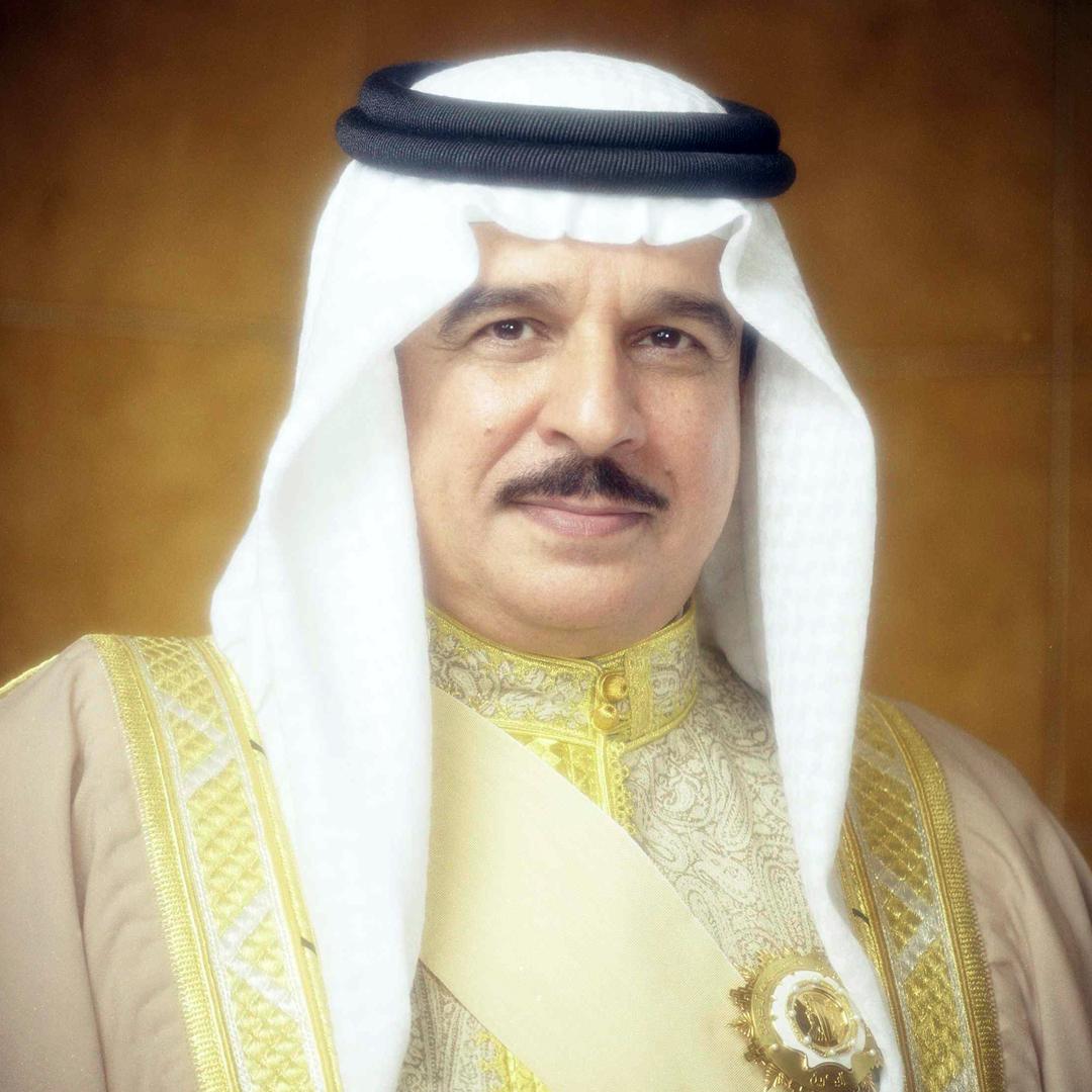 جلالة الملك المفدى يتلقى برقية تهنئة من سمو الشيخ حمد بن محمد بن سلمان آل خليفة
