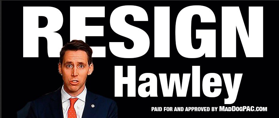 Good News. In two days we have raised $3,000 with just $1,000 left for the Hawley billboard. Looking at locations... support at
