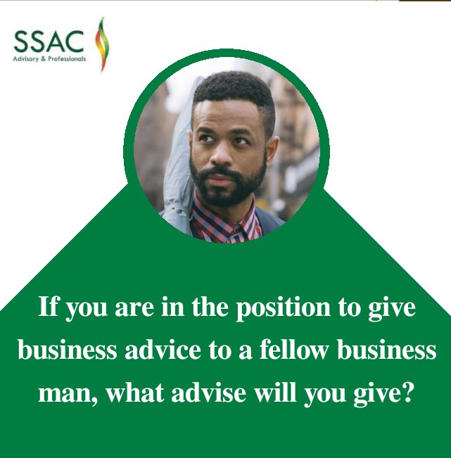 If you are to give a business owner an advice, what will it be?   #businessowner #advisory #tuesdayvibe