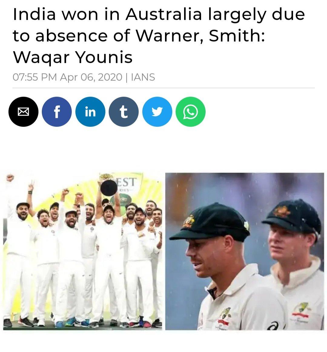 So what shall we say now 😂  #INDvsAUS #ViratKohli #SachinTendulkar #BorderGavaskar #MSDhoni #RishabPant #AjinkyaRahane #AskTheExpert #Cricket #SportingCP