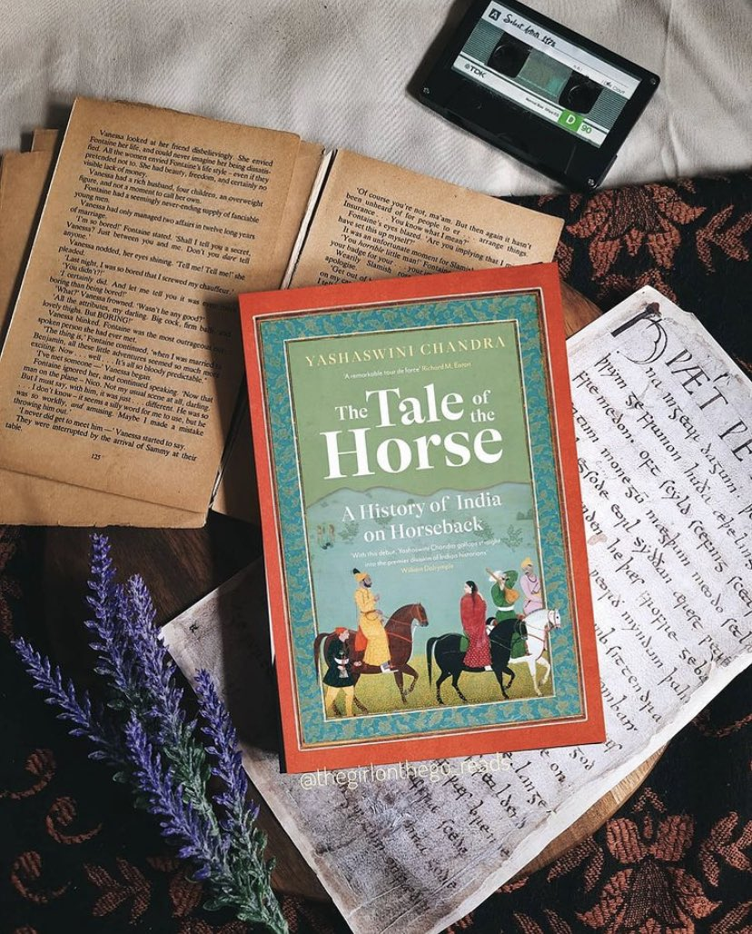Replying to @PanMacIndia: An @amazonIN bestseller, pre-order THE TALE OF THE HORSE by @Yashaswini_Ch today!  #BlogTour #Day5