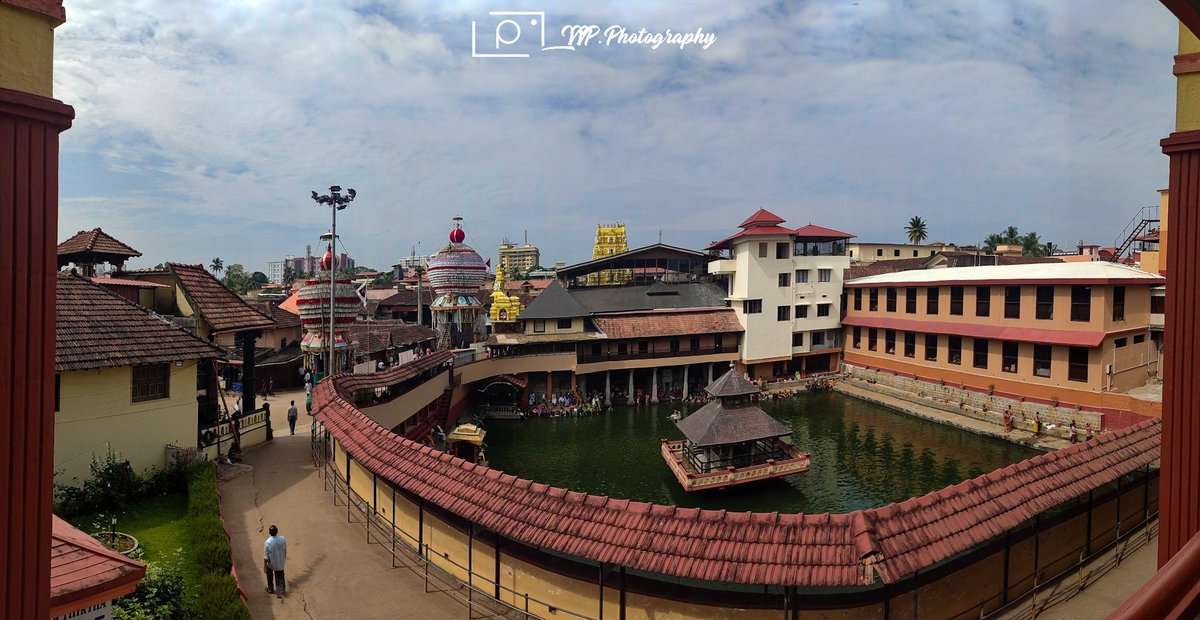 Panorama shot of UDUPI SHRI KRISHNA MATHA #shotonredminote7pro #mobilephotography #Uttarayan #morning