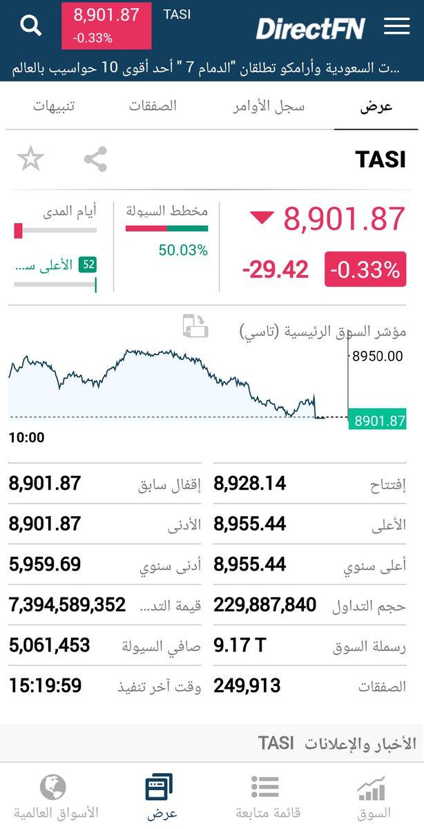 إغلاق #السوق_السعودي من تطبيق الأجهزة الذكية  احصل اشتراك شهري بقيمة 95 ريال فقط... *عمق السوق (1 *1 )  *أسعار فورية ومباشرة   للاشتراك التواصل معنا عبر الرقم:-920005710  #مباشر #الأجهزة_الذكية #أداة_الإستثمار_المثالية
