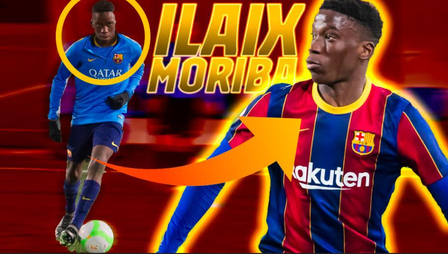 Replying to @FCBarcelona_es: ¡Felices 1⃣8⃣!  🎂 Ilaix Moriba   🔝 Goles, 'skills' y mejores momentos con la @FCBmasia