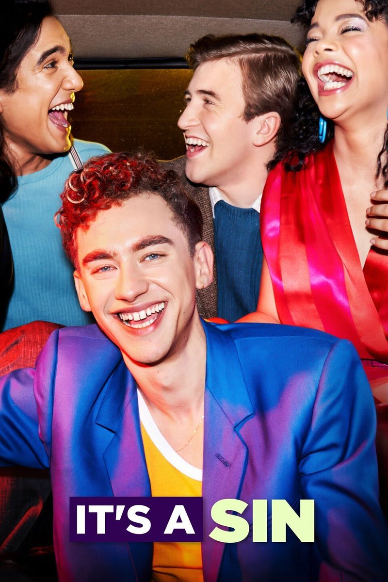 And this Friday the tv series we've all been waiting for starts: #ItsASin by @russelldavies63. Looks excellent & you really should watch it to see what the #LGBTQ (and others) community went thru in 80s. @PaulBurston has seen the whole series & says it's brilliant!