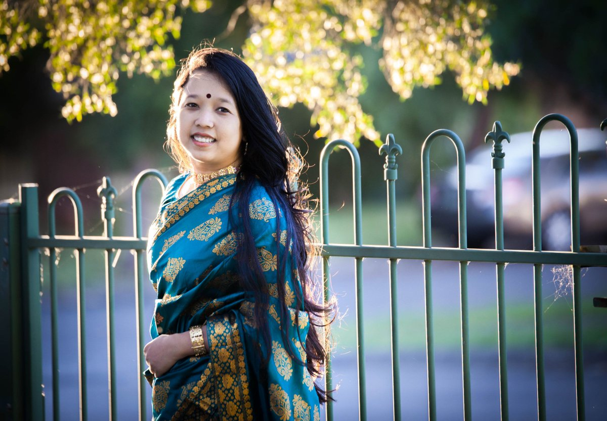 New on the blog: Mekhela Chador - Traditional Assamese Dress  #assam #traditional #mekhelachador #bihu