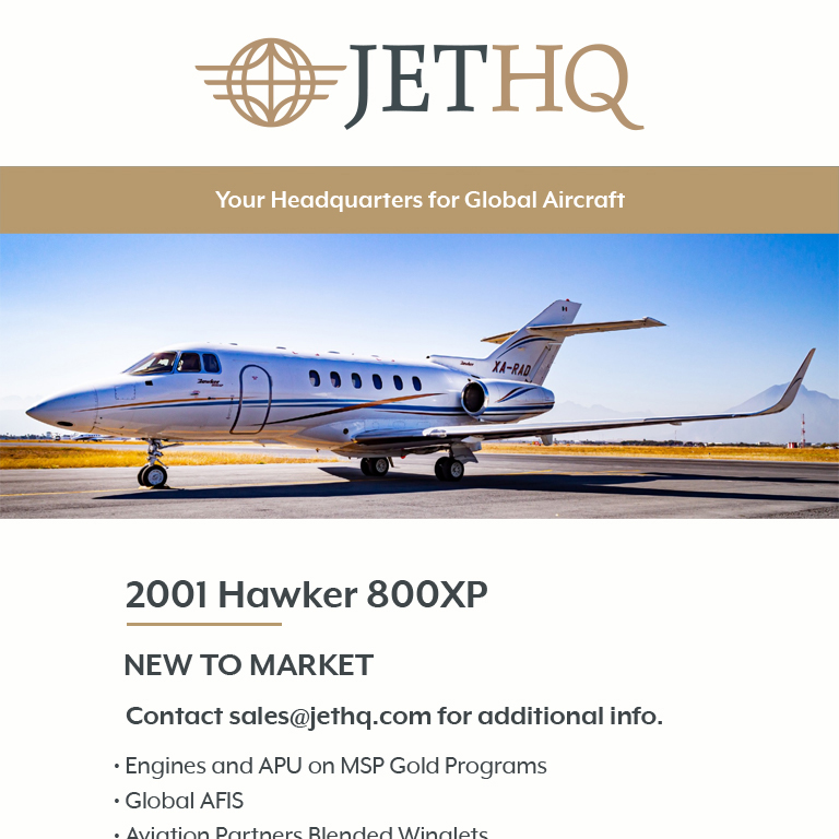New to market - 2001 #Hawker #800XP at @JetHQAv  Engines and APU on MSP Gold Programs RVSM Certified More details at: https://t.co/ghJieXZmWh  #bizav #aircraftforsale #privatejet #privateflying #jetforsale #businessaviation