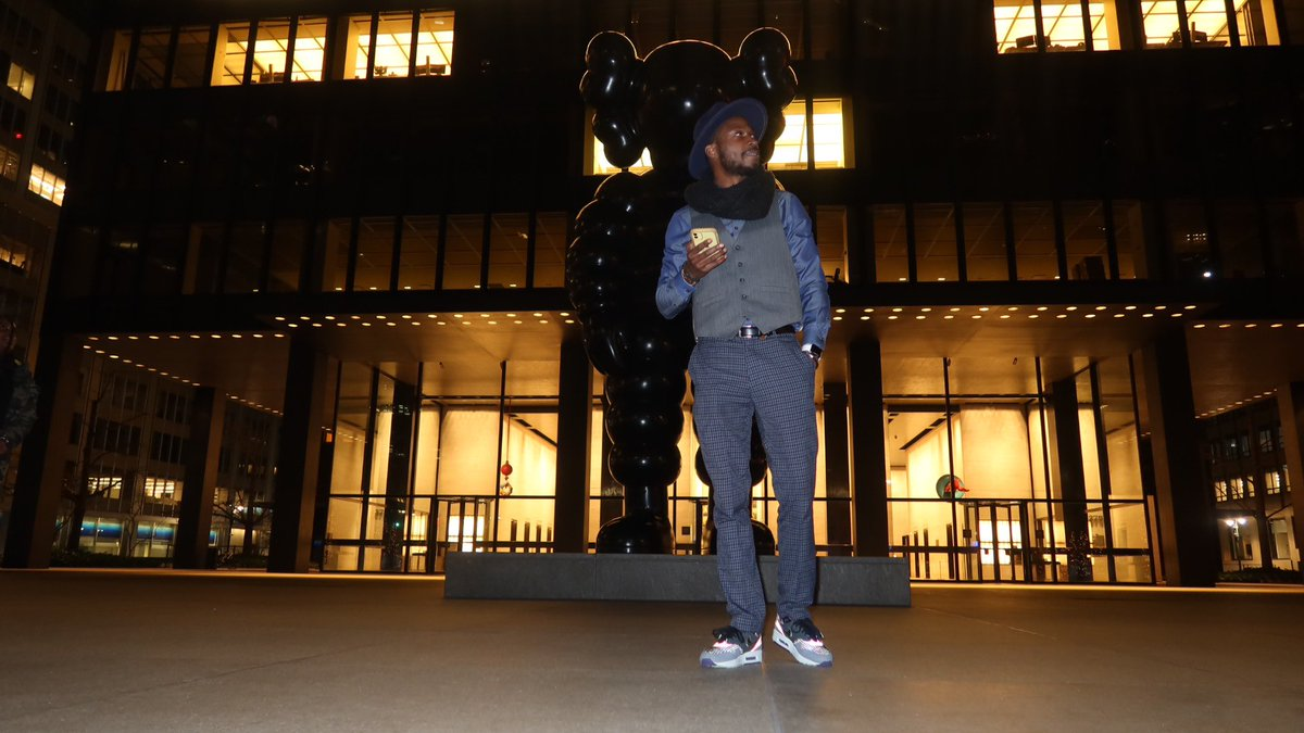 Have to check my moral compass everyday just to make sure I'm going in the right direction! #kaws #lifestyle