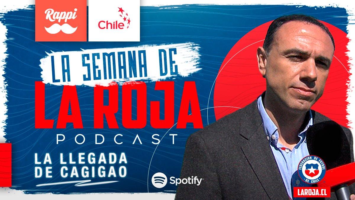 Nuevo Podcast 👉    🇨🇱 En La Semana de La Roja conversamos en exclusiva con Francis Cagigao 👤 sobre su aterrizaje en Chile y sus planes en el ⚽ fútbol nacional. Además, la actualidad de La Roja Femenina y más.