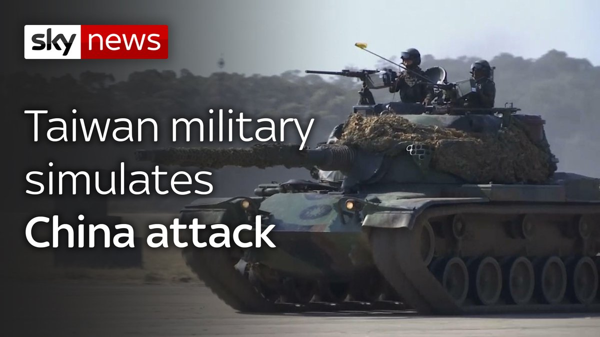 Taiwanese troops staged a drill aimed at repelling an attack from China, which has increased its threats to reclaim the island.  Read today's top stories here: