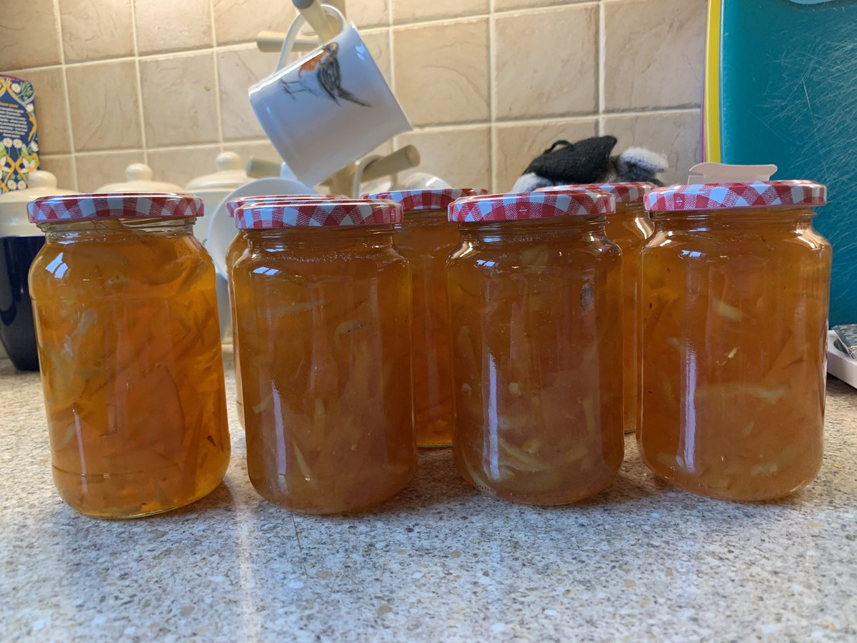 One of my favourite jobs. I've made seven jars of sunshine this morning. #marmalade #oranges #lemons #ginger