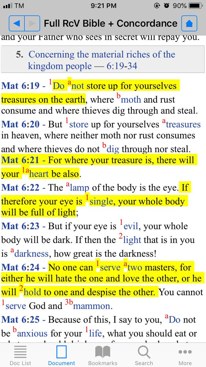 Matt 6:19-34 - single heart and single vision - setting and sending out treasure in the heaven - eyes focusing in one thing = our body full of light - seek first His Kingdom  - do not be anxious - The kingdom people should never live in tomorrow but always in today https://t.co/tivuq6RYAy